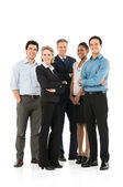 Business Team Standing Together — Stock Photo