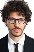 Young Businessman With Specs — Stok fotoğraf