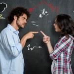 Couple Having Argument — Stock Photo #50521059