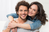 Portrait Of Loving Young Couple — Stock Photo