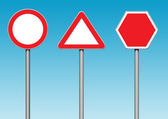 Roadsigns — Stock Photo