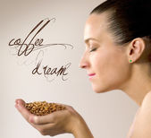 Coffe dream — Stock Photo