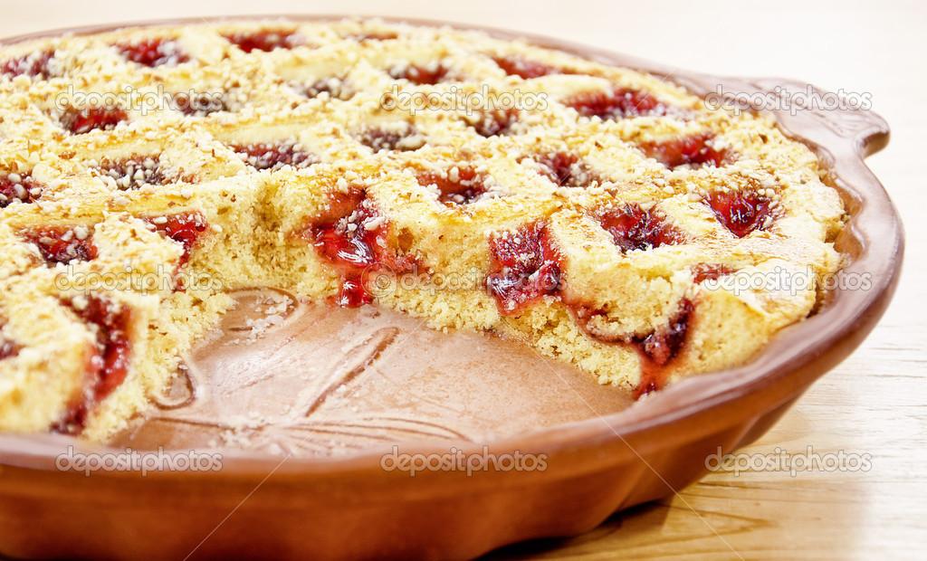 Вкусный пирог с малиной рецепт