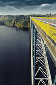 View from bridge — Stock Photo