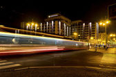 Fast tram — Stock Photo