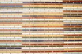 Colored Bricks background — Stock Photo