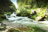 Umia River rapid in Caldas, Spain — Stock Photo