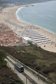 Nazare Beach, Portugal — Stock Photo
