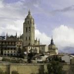 Segovia Cathedral, Castilla Leon, Spain — Stock Photo