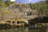Cuervo Cascade, Cuenca, Spain — Stock Photo