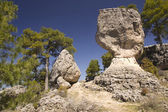 Limestone Rocks in cuenca, Spain — Stock Photo