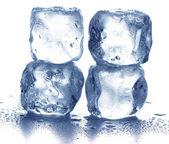 冰的多维数据集 — 图库照片
