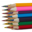 Stock Photo: Multicolor pencils