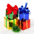 Foto Stock: Christmas presents
