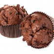 Stock Photo: Muffin chocolate