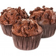 Muffin chocolate — Stockfoto #34615395