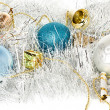 Christmas decoration, ornaments — Stock Photo