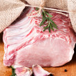 Raw meat, fresh pork — Stock Photo #34971359