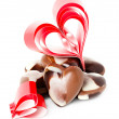 Stock Photo: Red heart. Valentine day