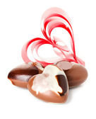 Red heart. Valentine day — Stock Photo