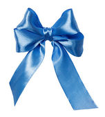 Bow, ribbon isolated on white — Стоковое фото