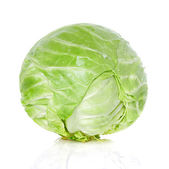 Cabbage isolated — Foto Stock