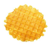 Liege waffles isolated — Stock Photo