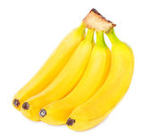 Bunch of bananas isolated on white background — Stock Photo