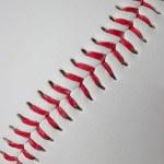 Baseball detail close-up — Stock Photo #49293139
