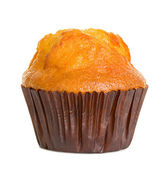 Muffin isolated on white background — Stock Photo