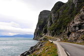 Road to Nordkapp — Stock Photo