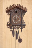 Antique cuckoo clock — Stock Photo