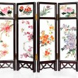 Stockfoto: Oriental Folding Screen