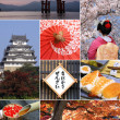Landmarks and Collage of Japan — Stock Photo