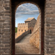 Great Wall in China - Stock Photo