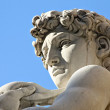 Michelangelo's David statue — Stock Photo