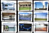Energy collage — Stock Photo