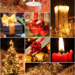 Christmas night - Foto Stock