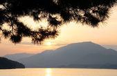 Sunset at Miyajima Bay — Stock Photo