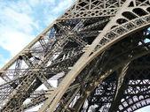 Eyfel Kulesi çelik yapı — Stok fotoğraf