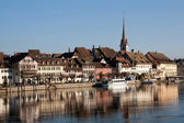Swiss town Stein am Rhein — Stock Photo