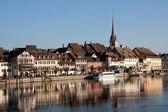 Swiss town Stein am Rhein — Stock Photo