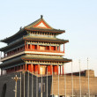 Zhengyang Gate in the center of Beijing, China — Stock Photo #16968393