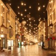Street in a Christmas night — Stock Photo #16968755