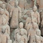Terracotta warriors, China — Stock Photo #17424279