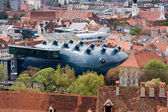 Kunsthaus Graz, an exhibition centre for modern arts — Stock Photo
