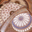 Ceiling of the Blue Mosque — Stock Photo