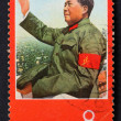 The stamp of Mao Zedong, China - Stock Photo