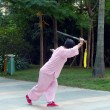 Womdoing sword dance — 图库照片 #18025687