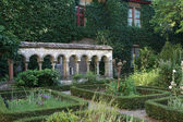 Herbs Garden in an old monastery — Foto Stock